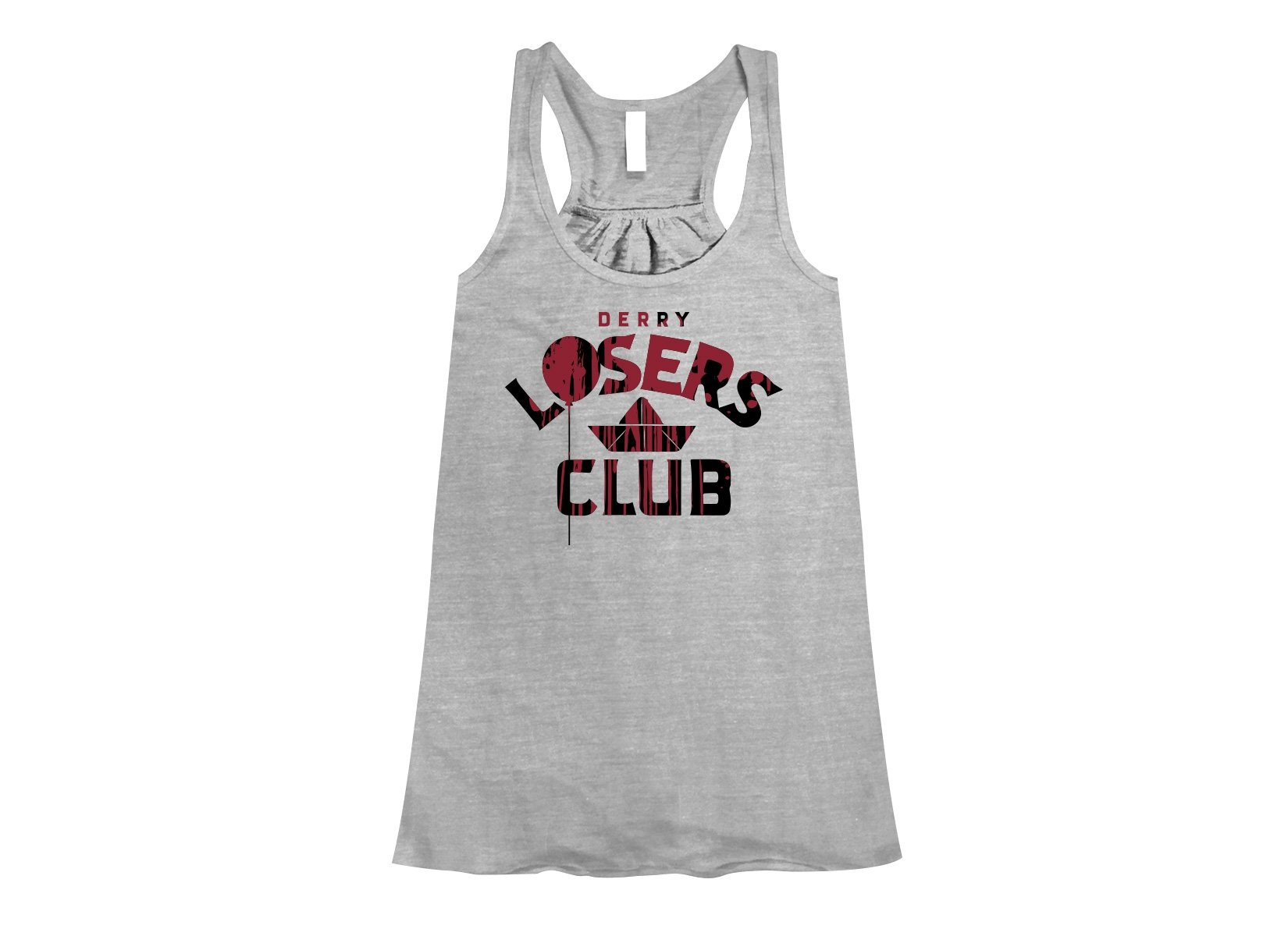 Derry Losers Club on Womens Tanks T-Shirt