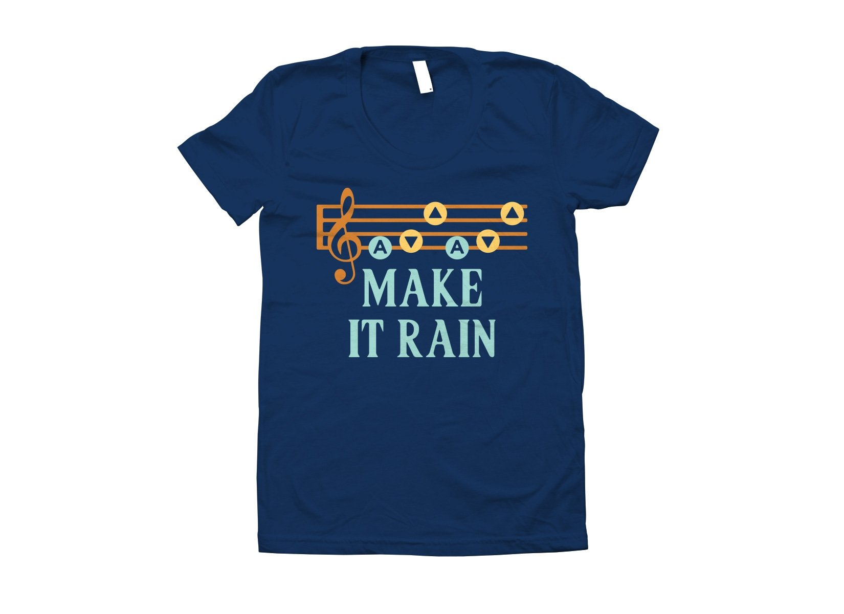 Make It Rain on Juniors T-Shirt