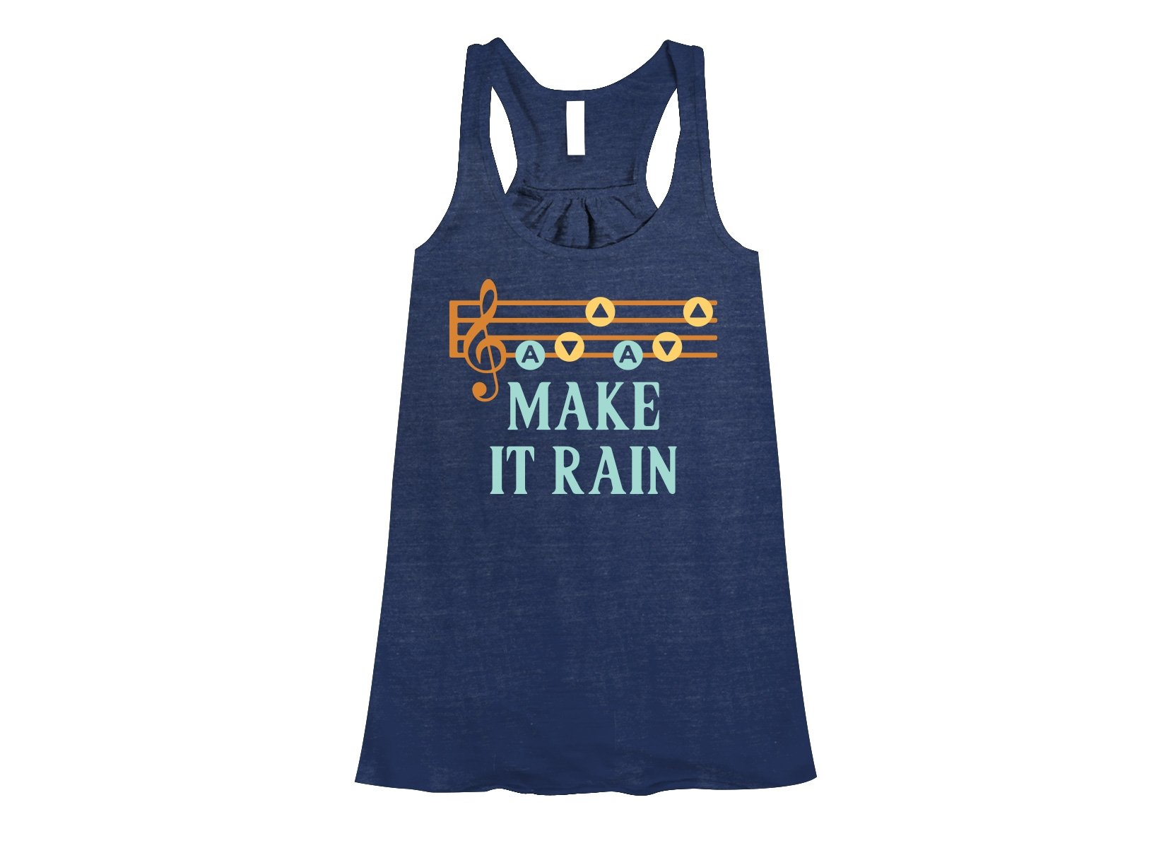 Make It Rain on Womens Tanks T-Shirt