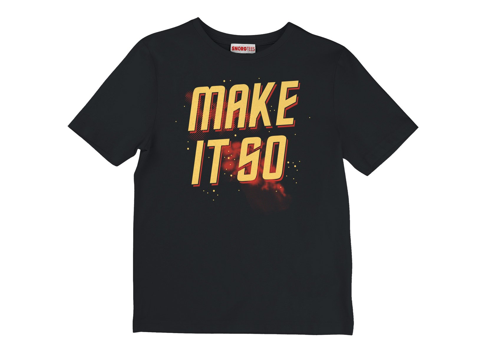 Make It So on Kids T-Shirt