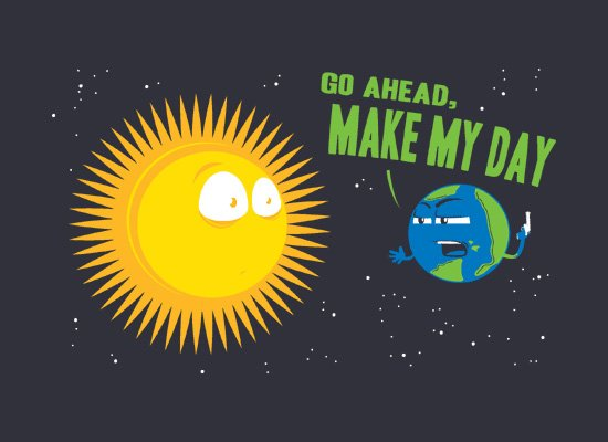 Go Ahead, Make My Day on Mens T-Shirt
