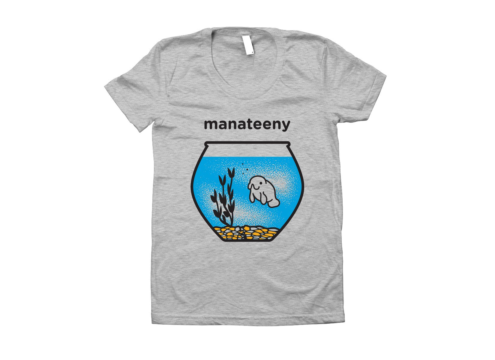 Manateeny on Juniors T-Shirt