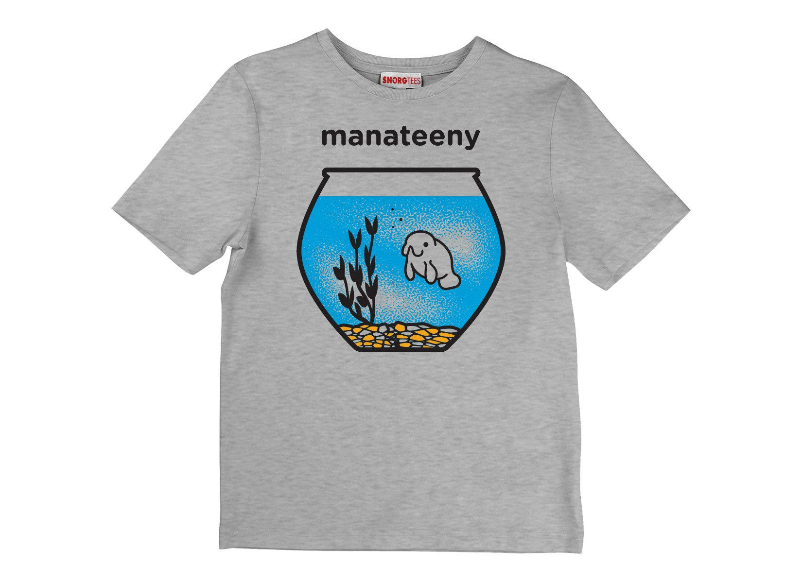 Manateeny on Kids T-Shirt