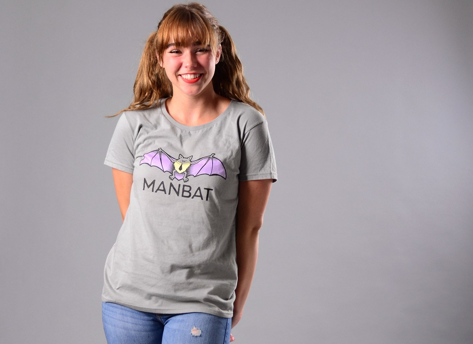 Manbat on Womens T-Shirt