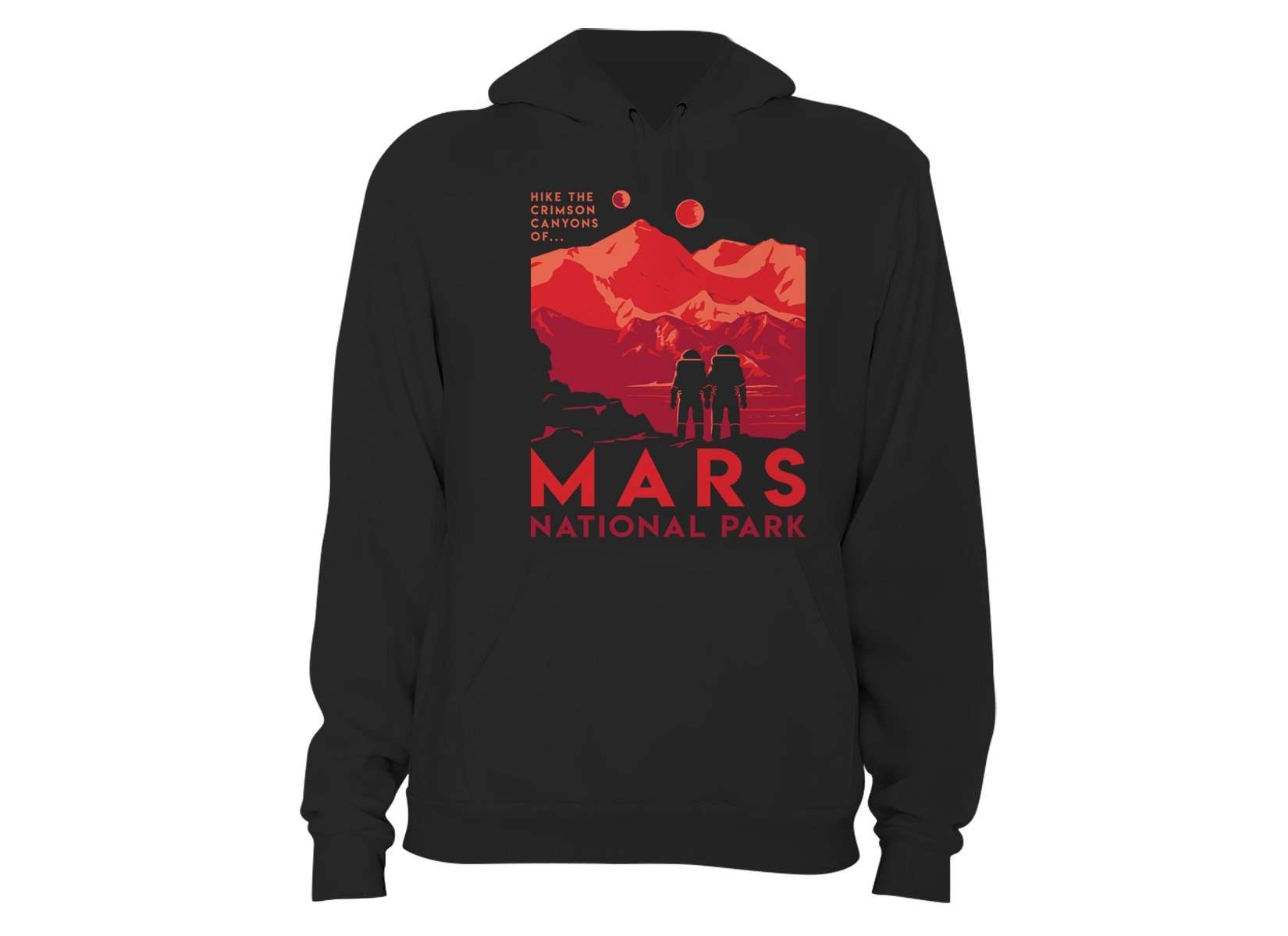 Mars National Park on Hoodie