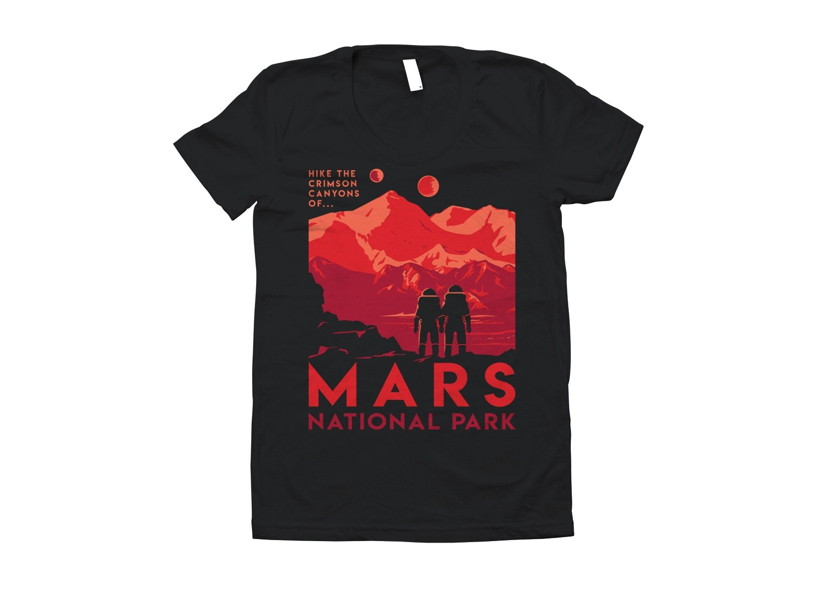 Mars National Park on Juniors T-Shirt