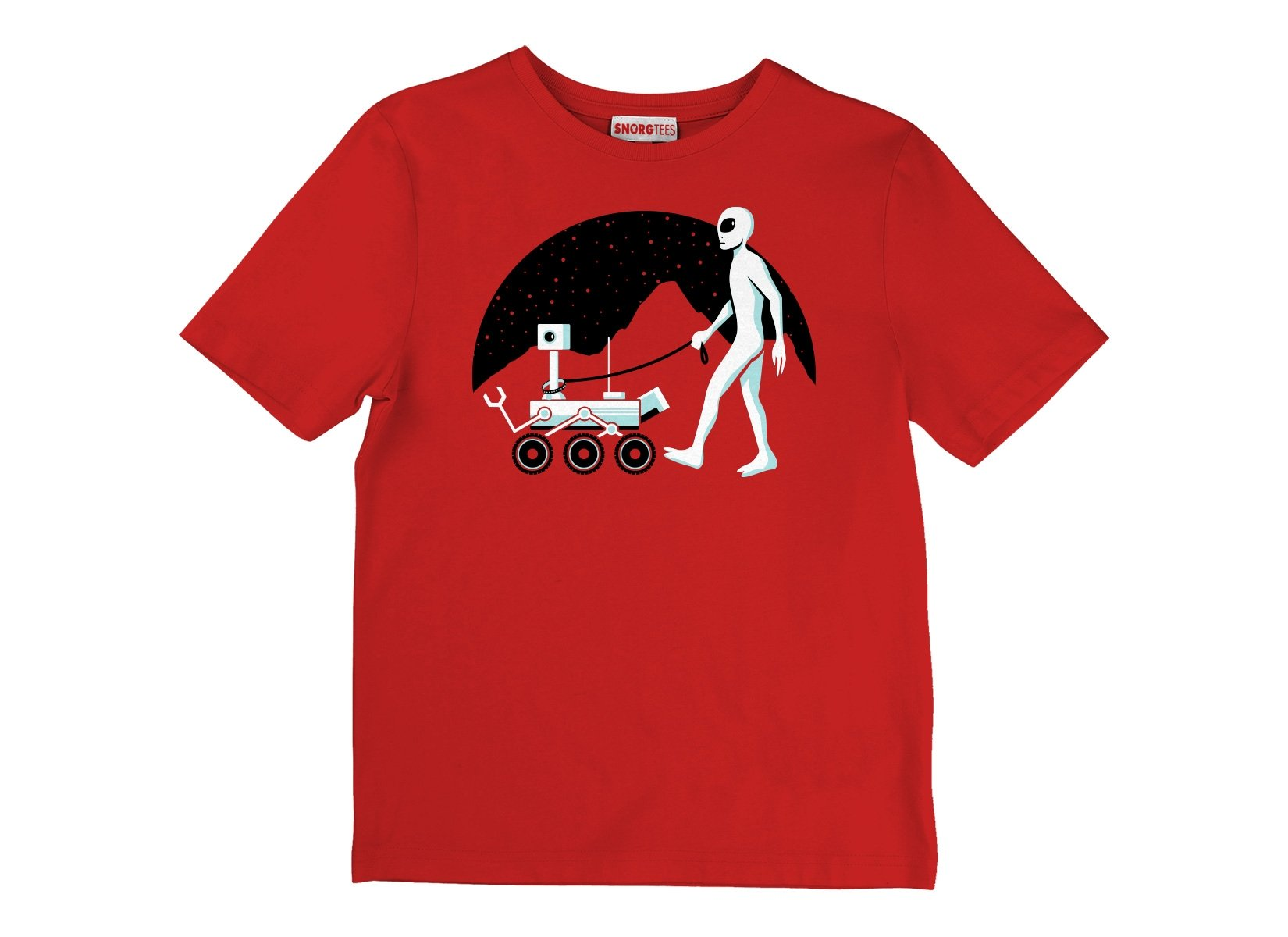 Mars Rover on Kids T-Shirt