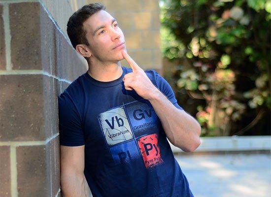 Vibranium on Mens T-Shirt