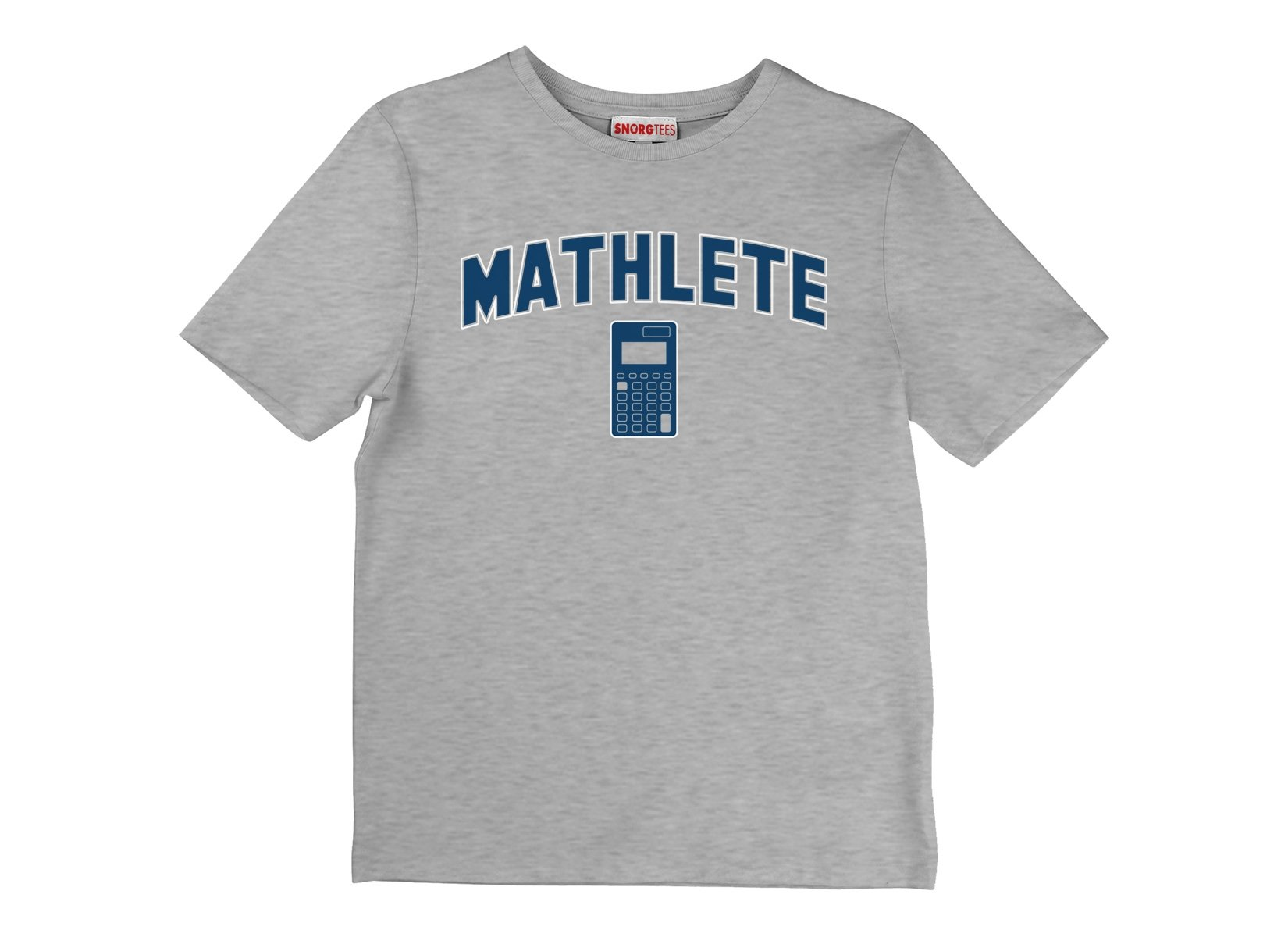Mathlete on Kids T-Shirt