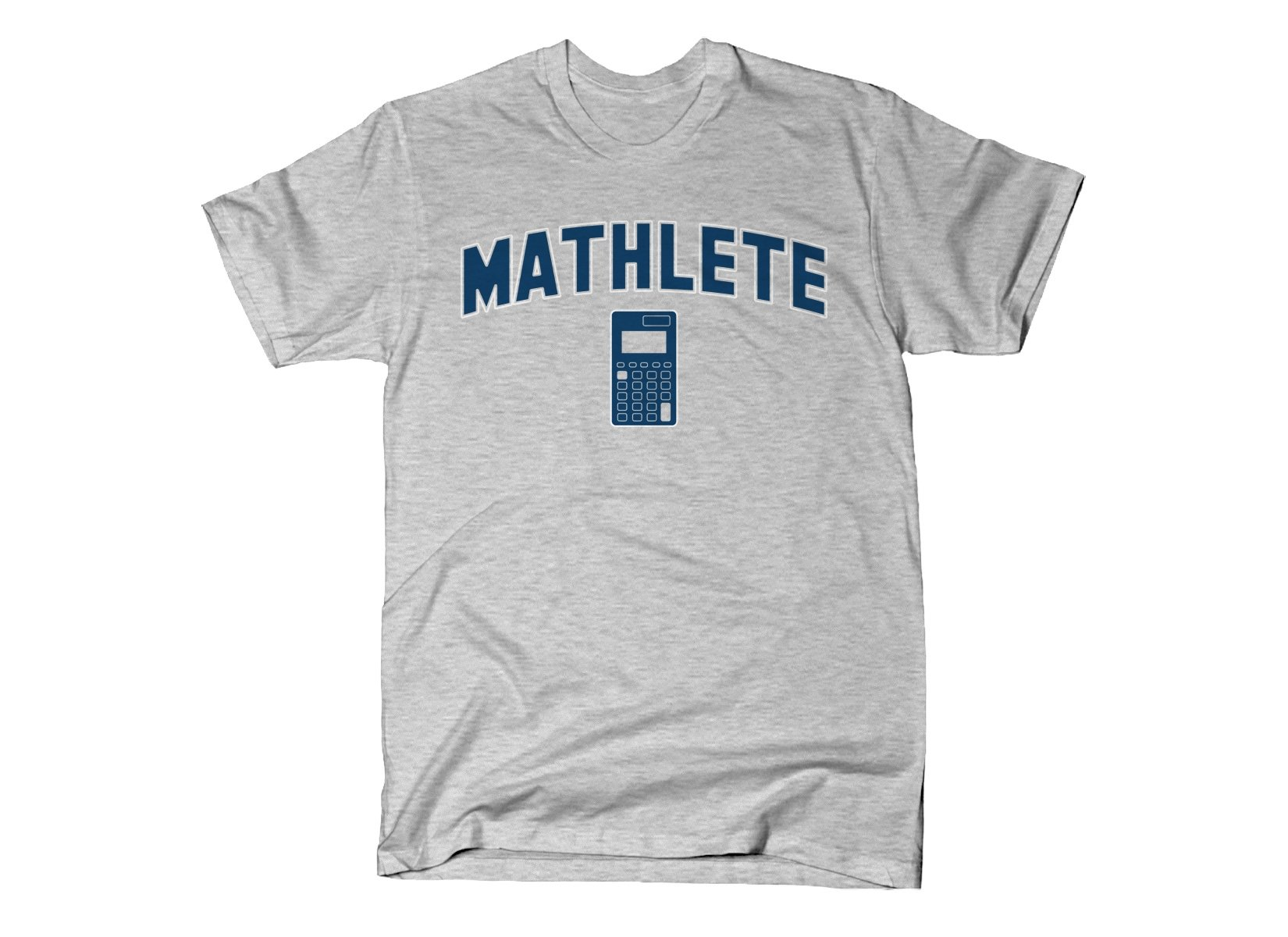 Mathlete on Mens T-Shirt