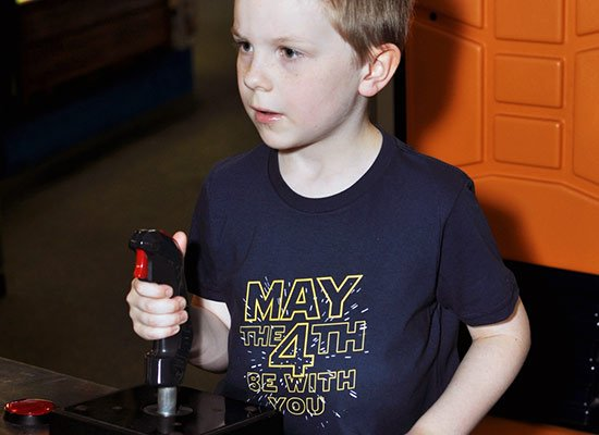 May The 4th Be With You on Kids T-Shirt