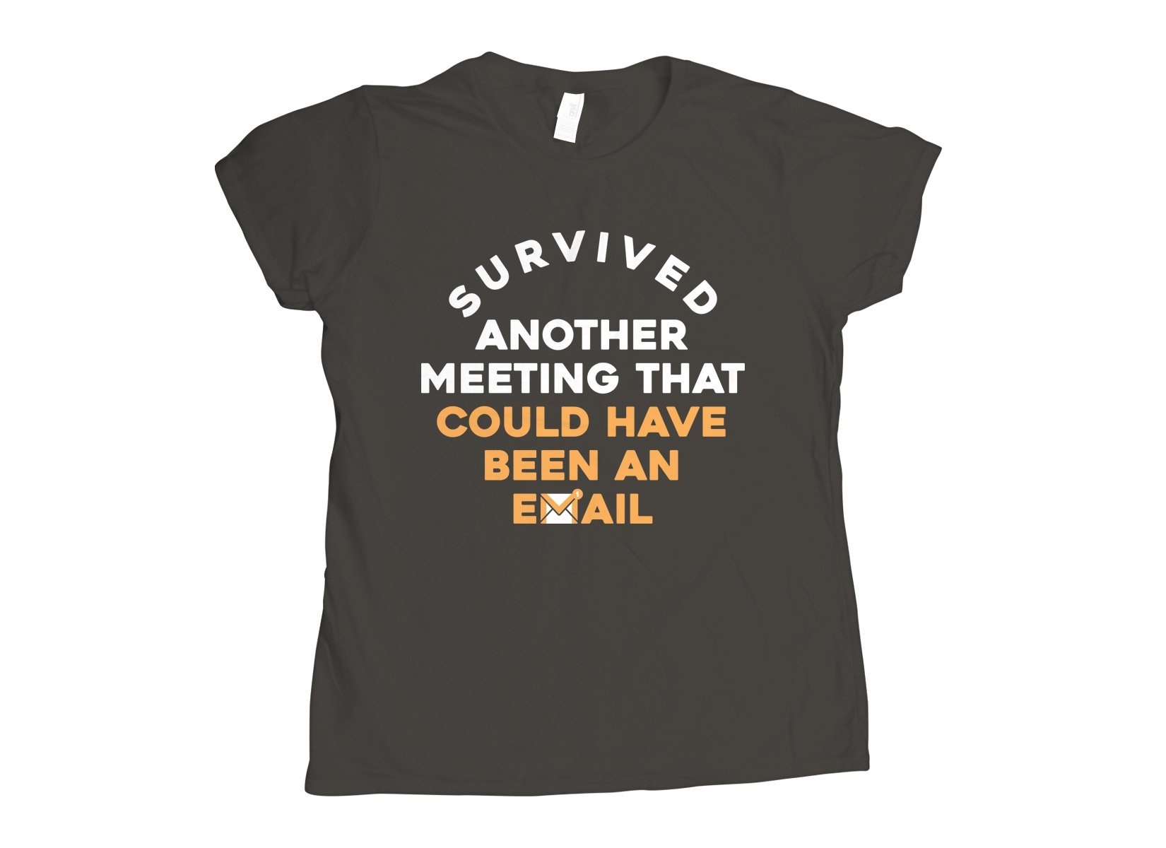 Survived Another Meeting on Womens T-Shirt