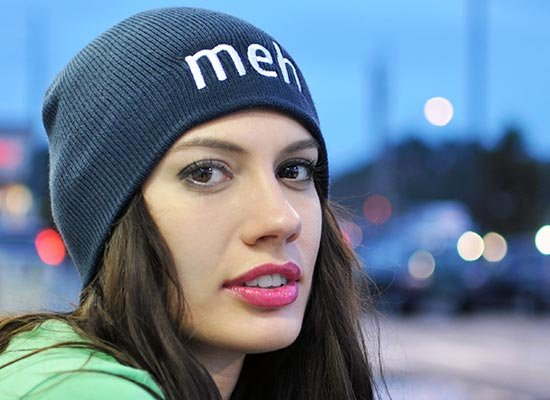 Meh Beanie on Mens Hats