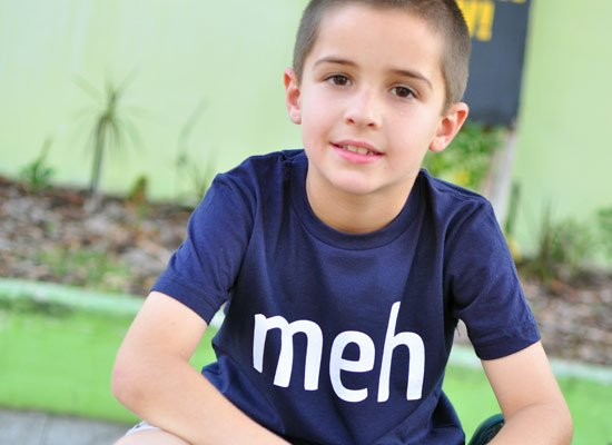 Meh Shirt on Kids T-Shirt