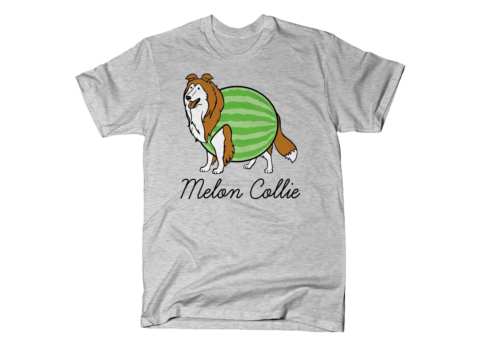 Melon Collie on Mens T-Shirt