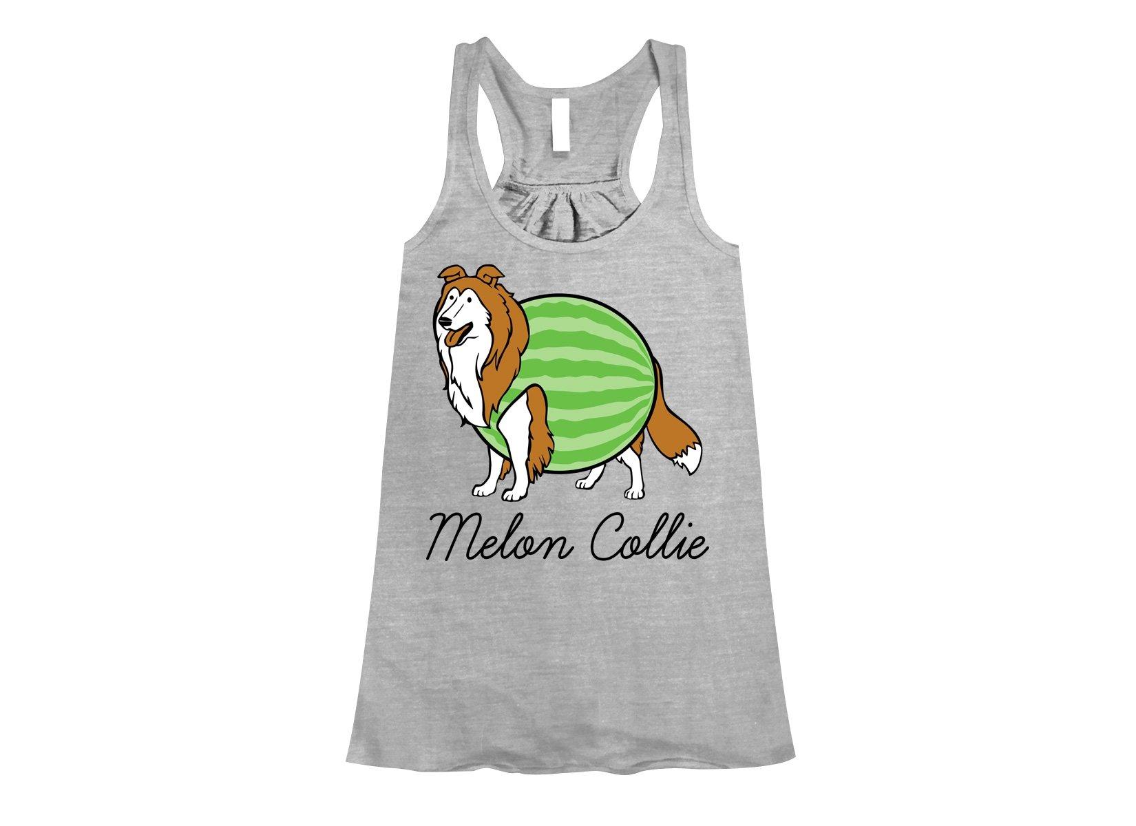 Melon Collie on Womens Tanks T-Shirt