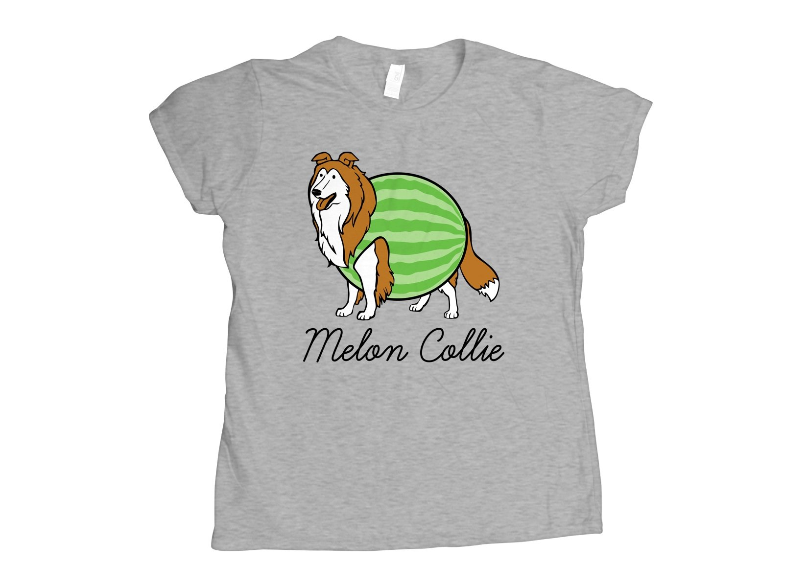 Melon Collie on Womens T-Shirt