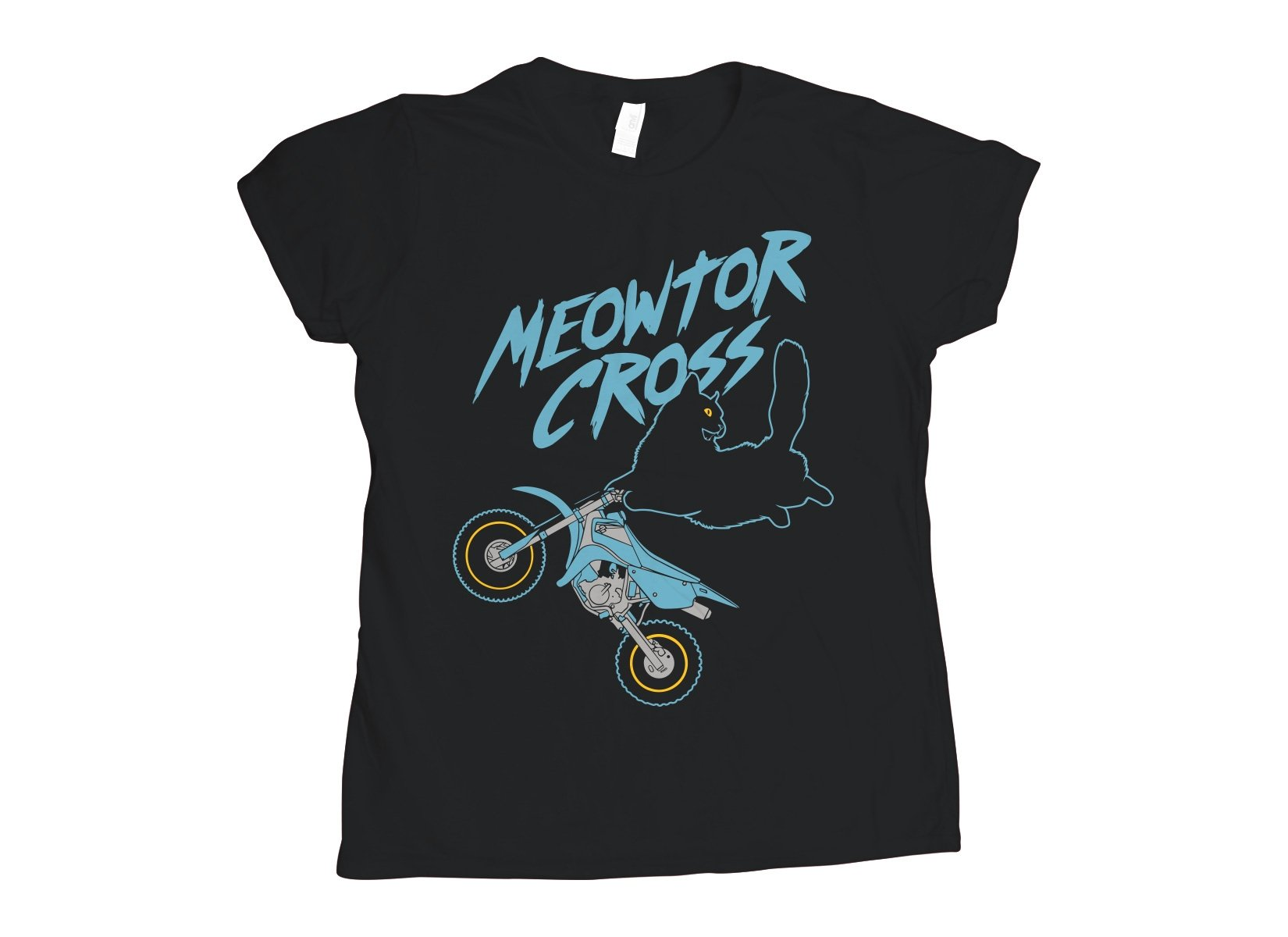 Meowtor Cross on Womens T-Shirt