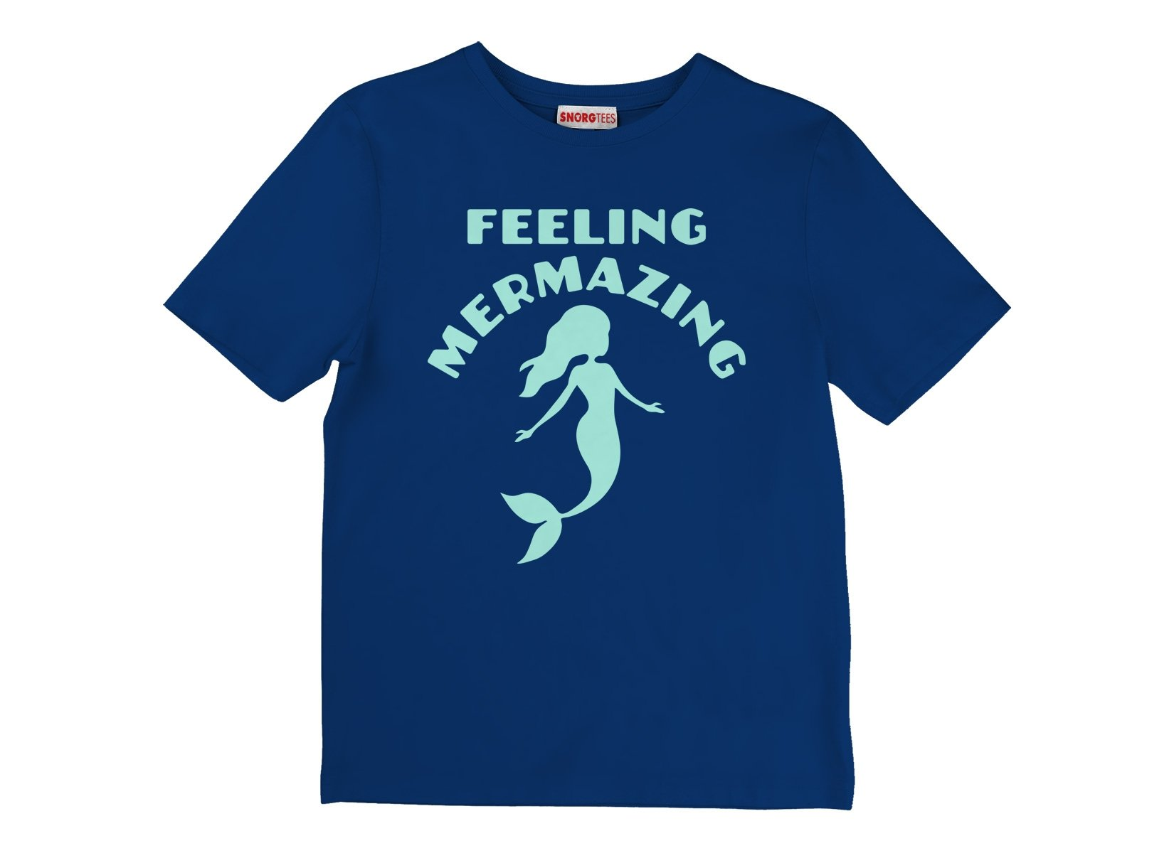 Feeling Mermazing on Kids T-Shirt