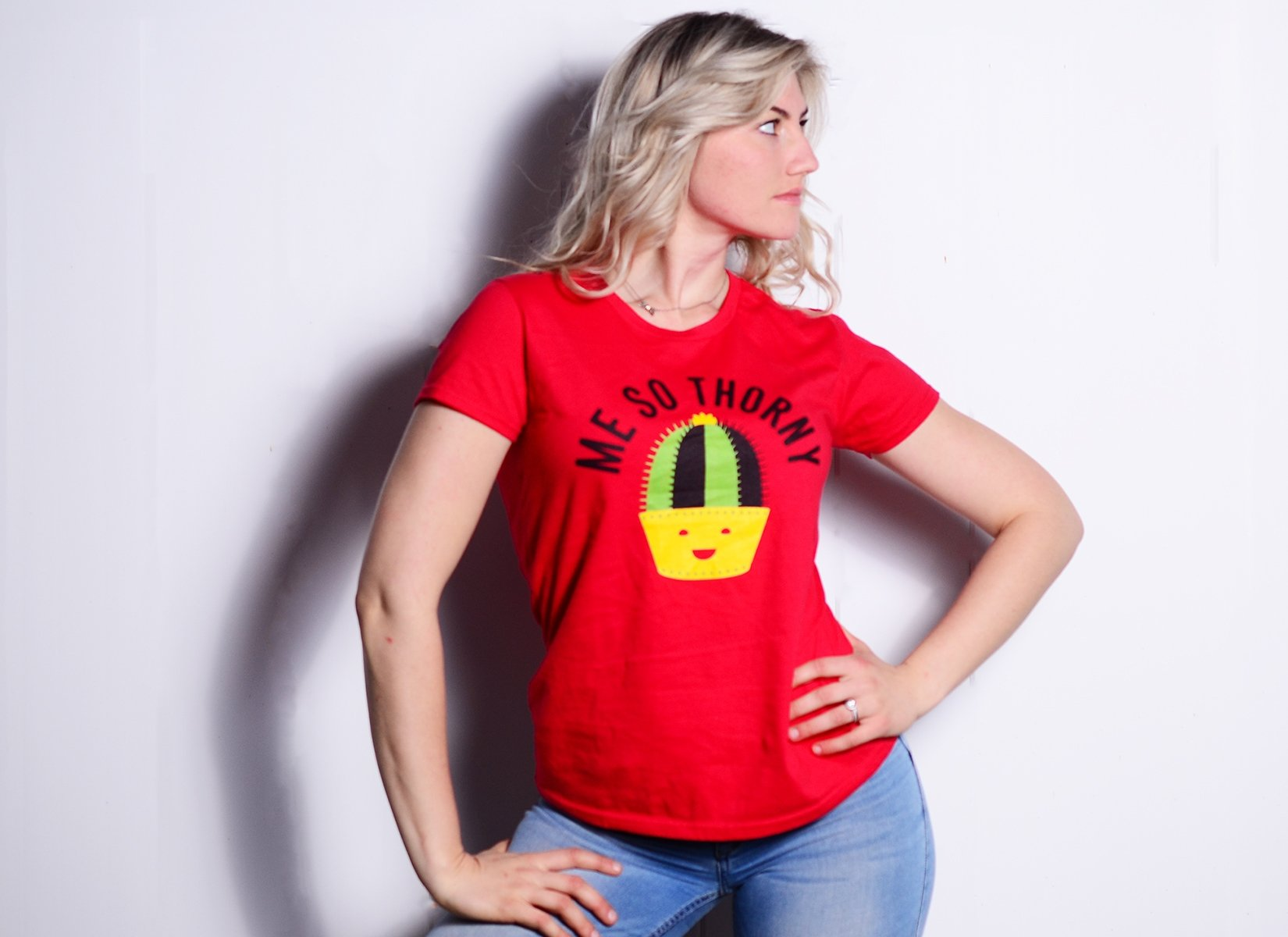 Me So Thorny on Womens T-Shirt