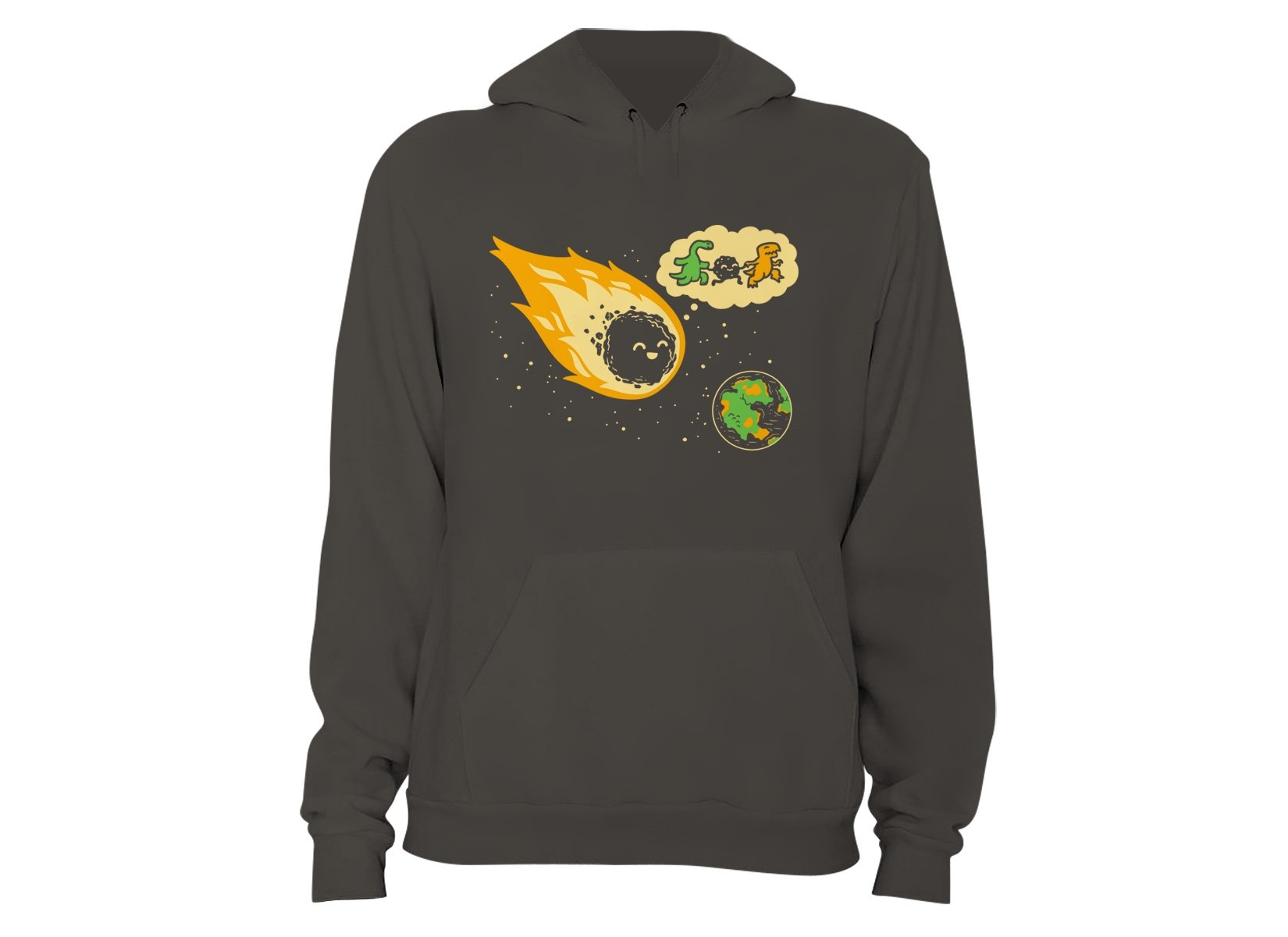 Meteor And Friends on Hoodie