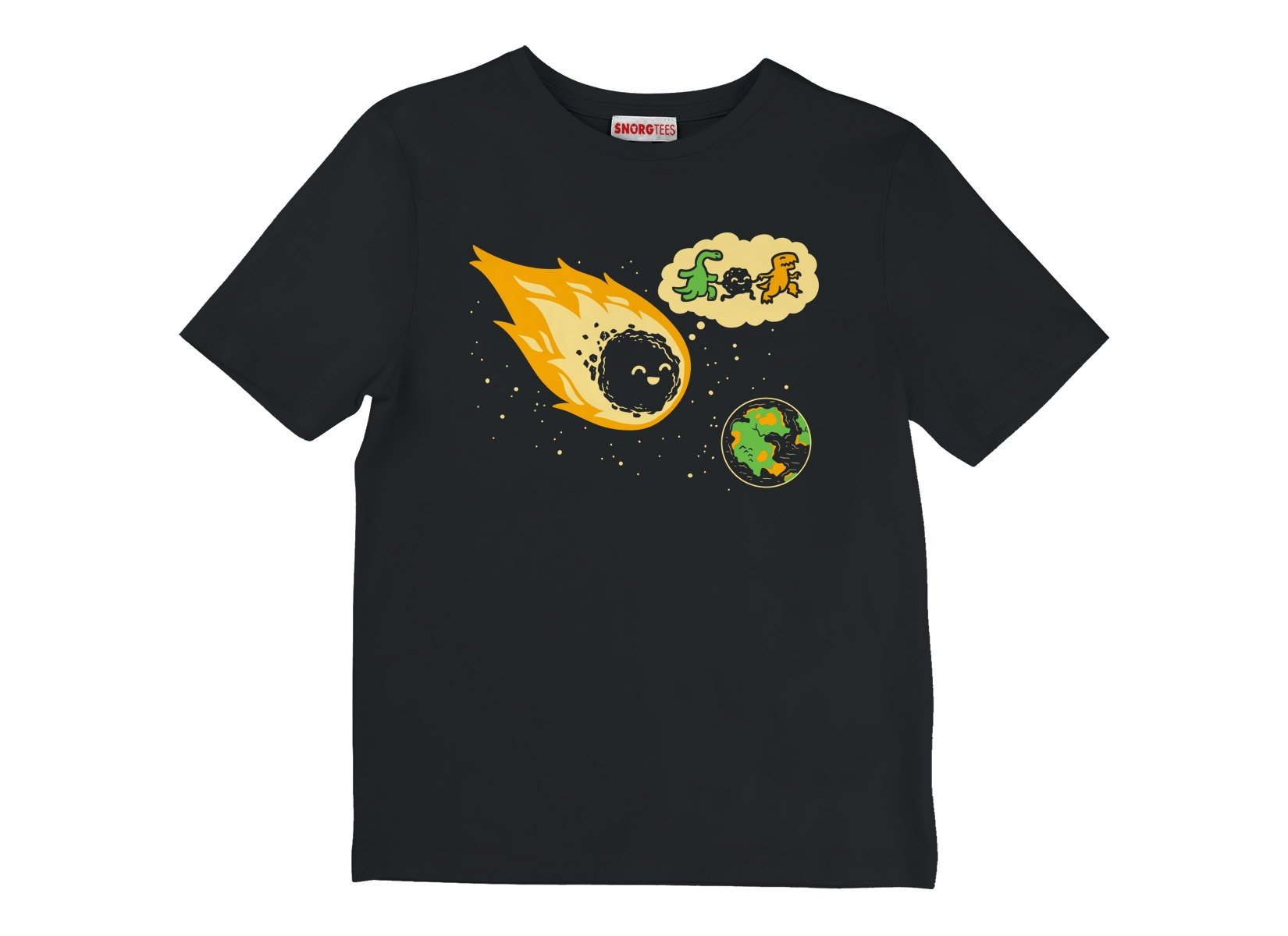 Meteor And Friends on Kids T-Shirt