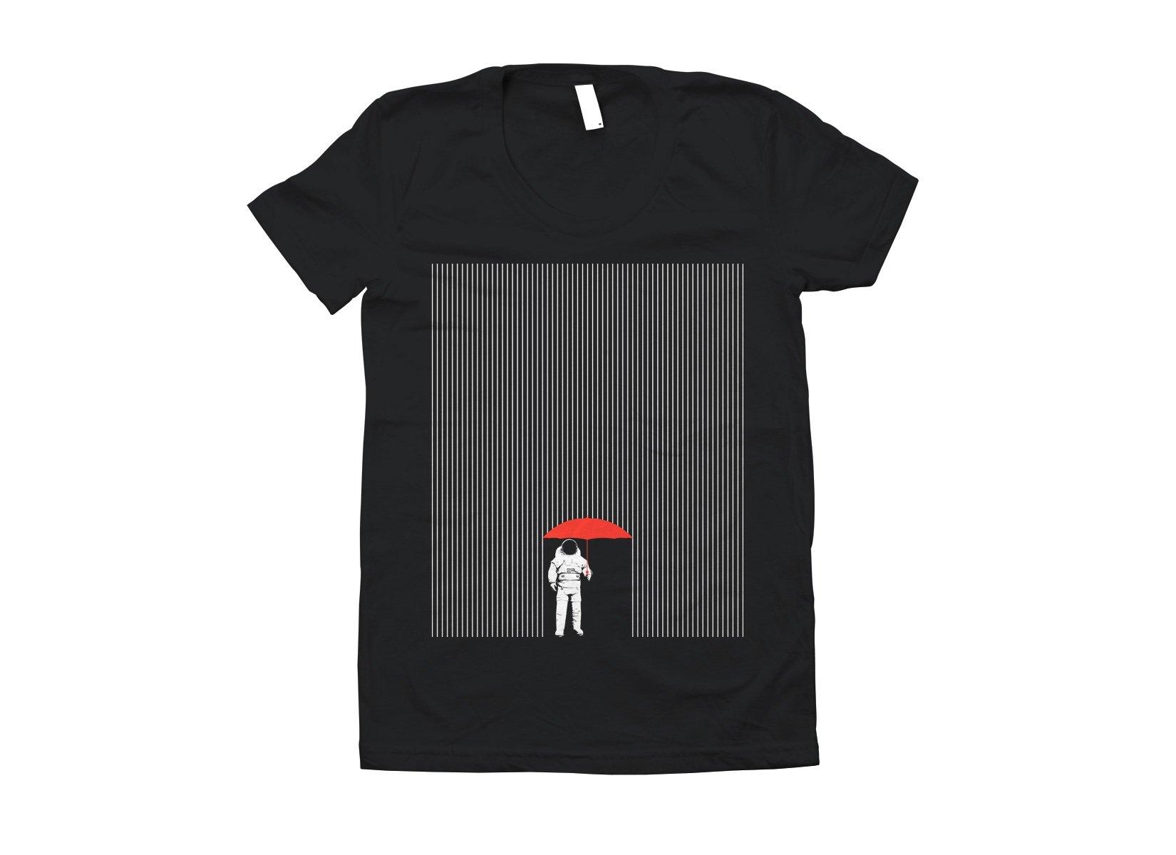 Meteor Shower on Juniors T-Shirt
