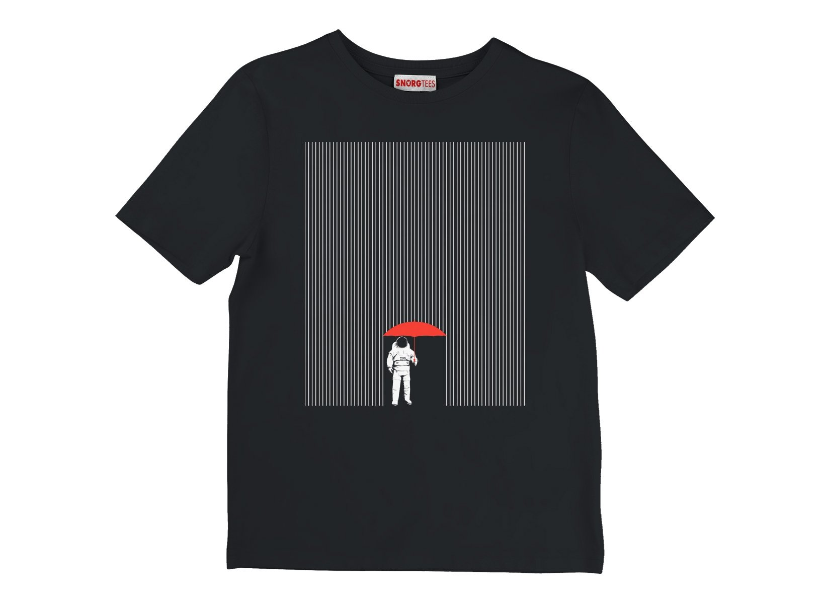 Meteor Shower on Kids T-Shirt