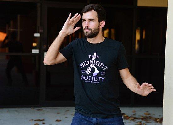 The Midnight Society on Mens T-Shirt