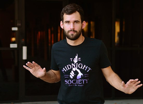 The Midnight Society on Mens T-Shirt
