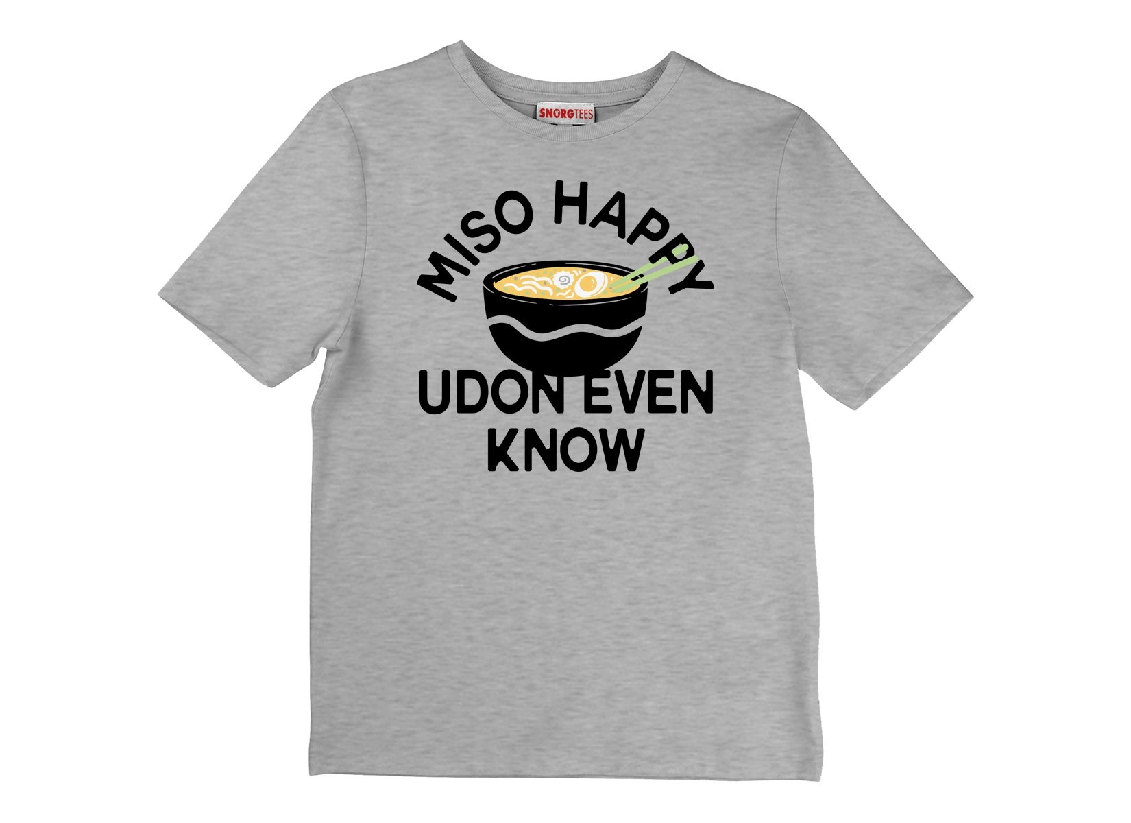Miso Happy on Kids T-Shirt