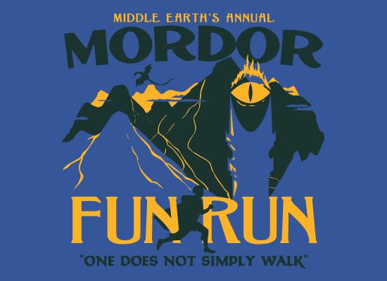 Mordor Fun Run T-Shirt | SnorgTees