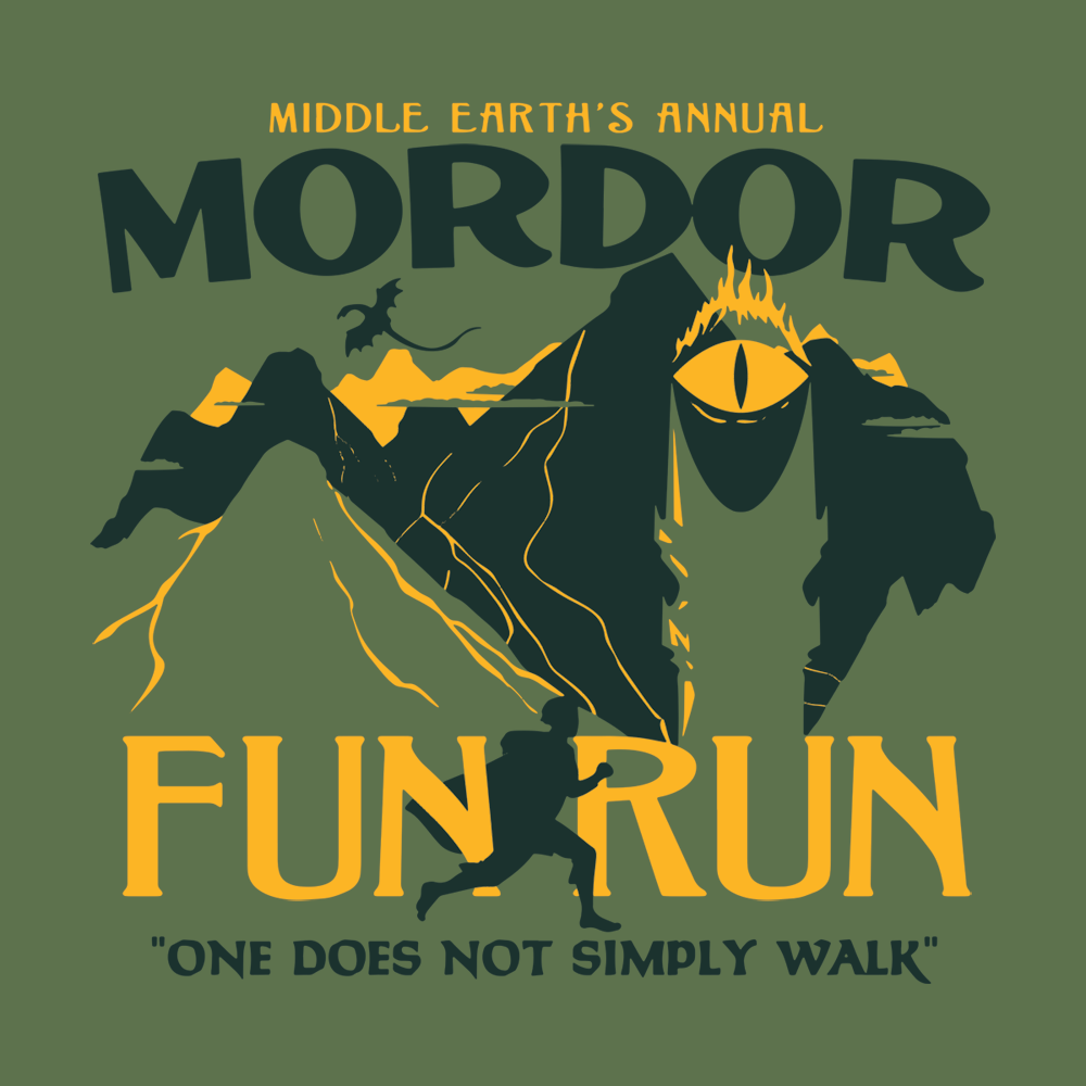 21cae8b9d Mordor Fun Run T-Shirt | SnorgTees