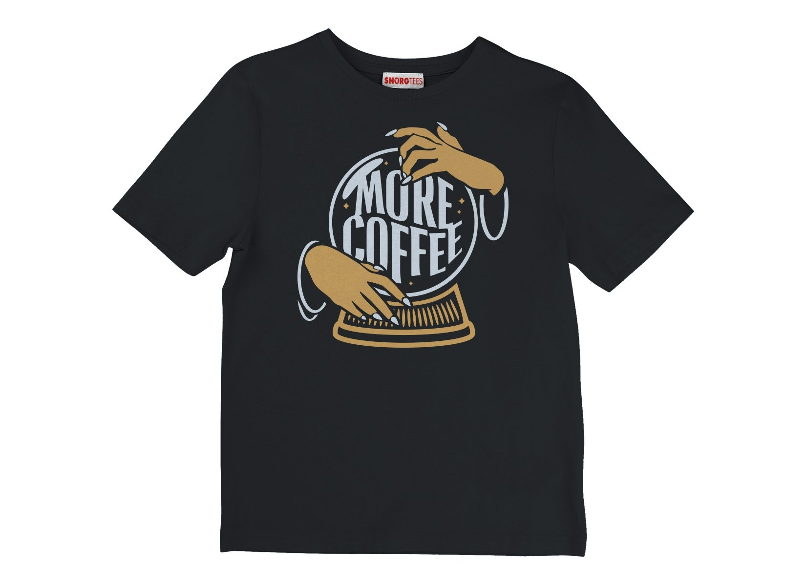 More Coffee on Kids T-Shirt