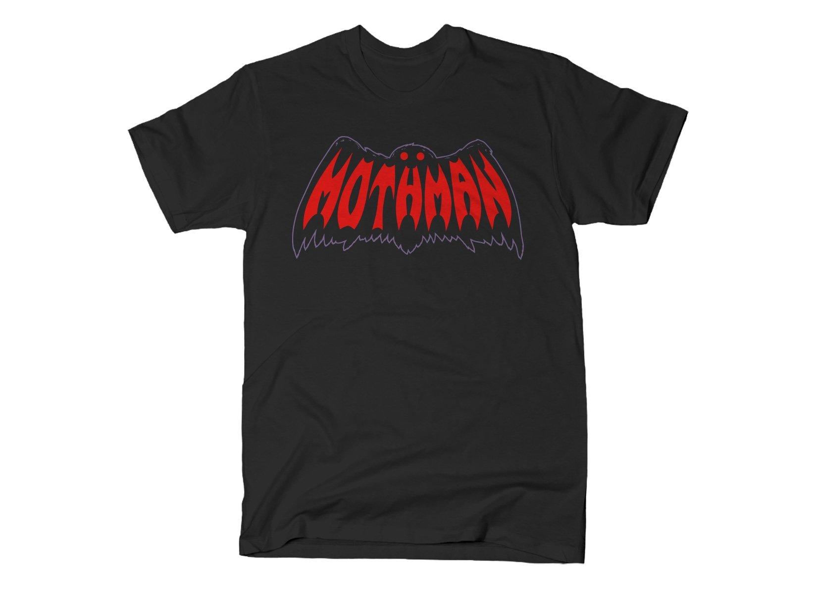 Mothman on Mens T-Shirt