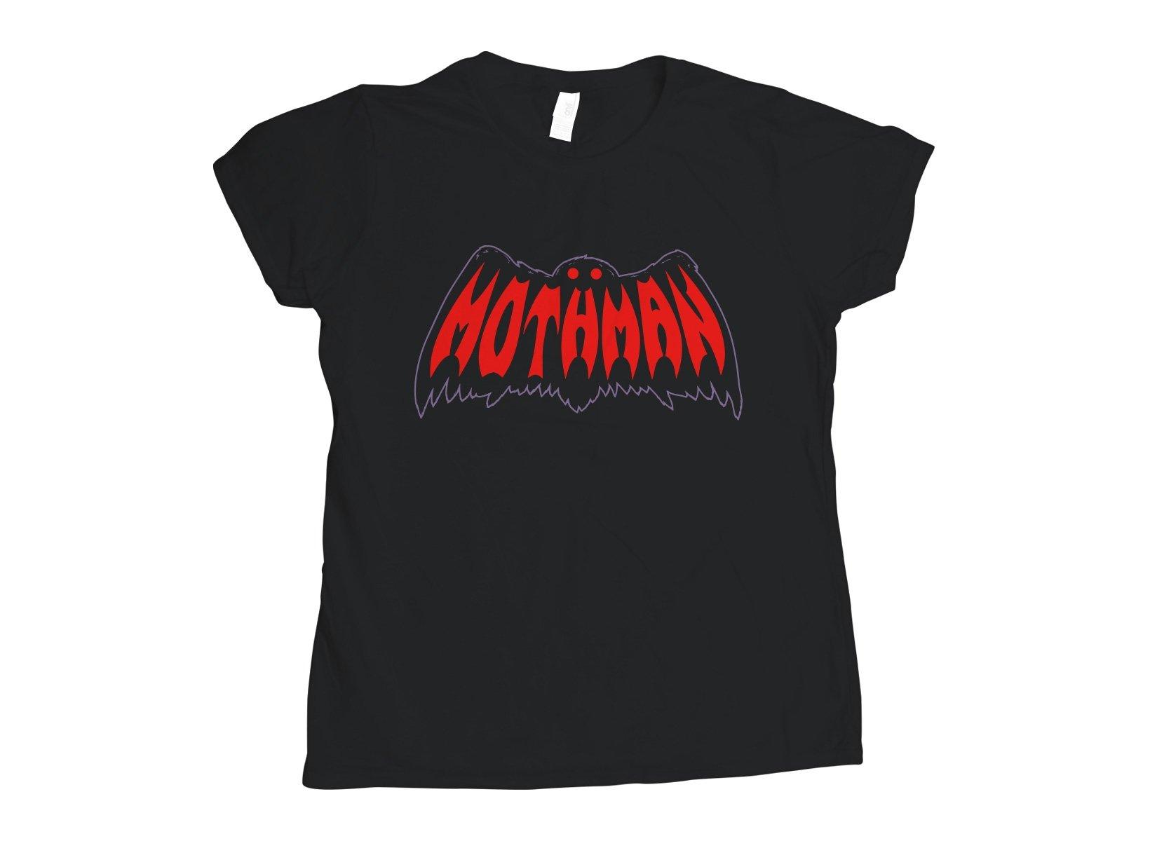 Mothman on Womens T-Shirt