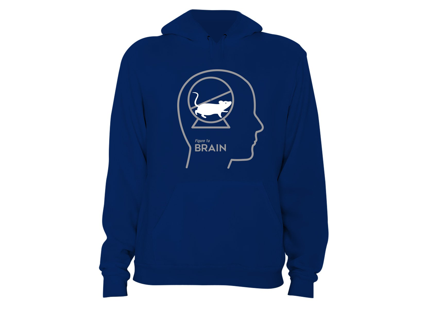Mouse Wheel Brain on Hoodie