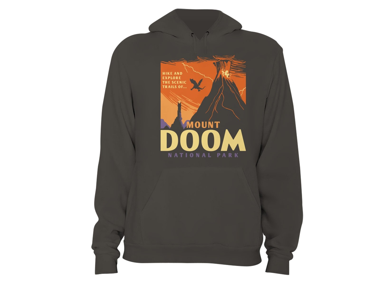 Mount Doom National Park on Hoodie