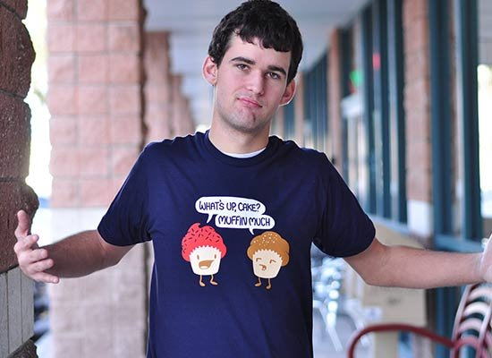 Muffin Much on Mens T-Shirt