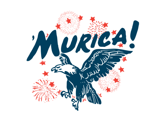 'Murica on Mens T-Shirt