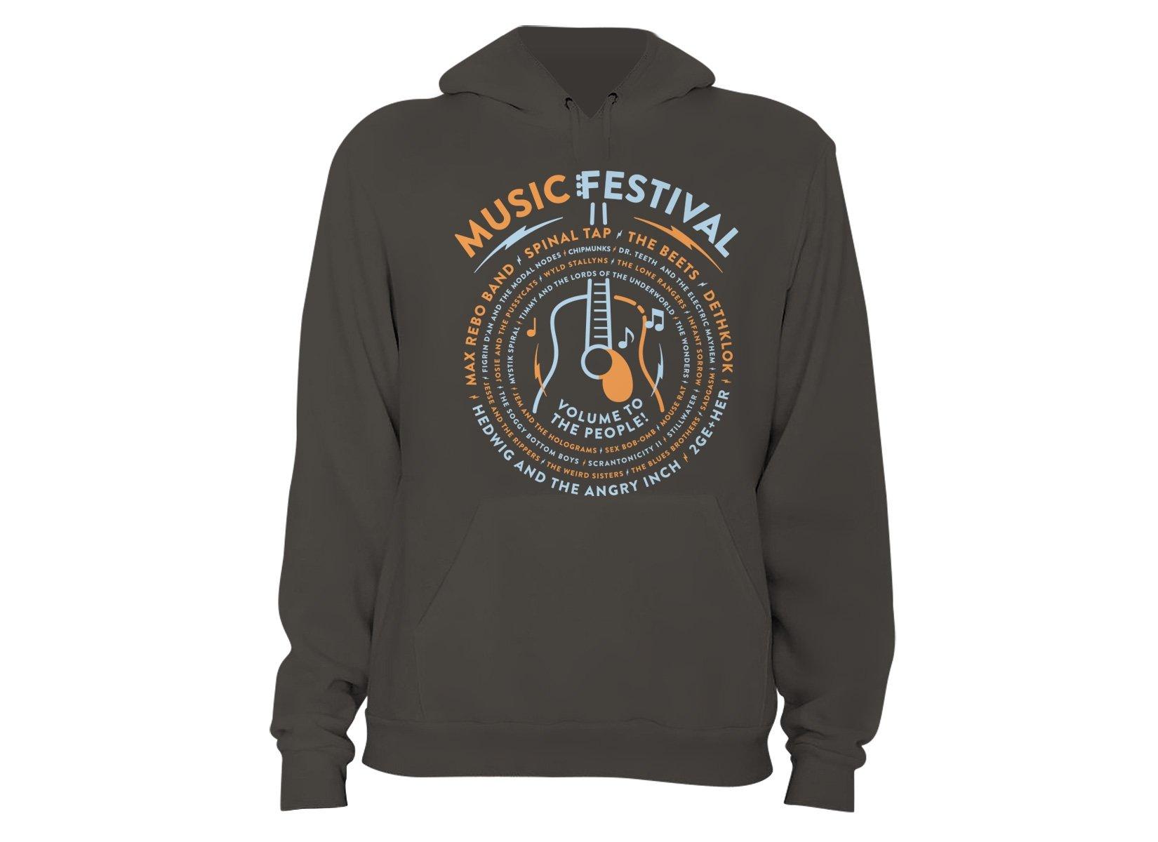 Music Festival on Hoodie