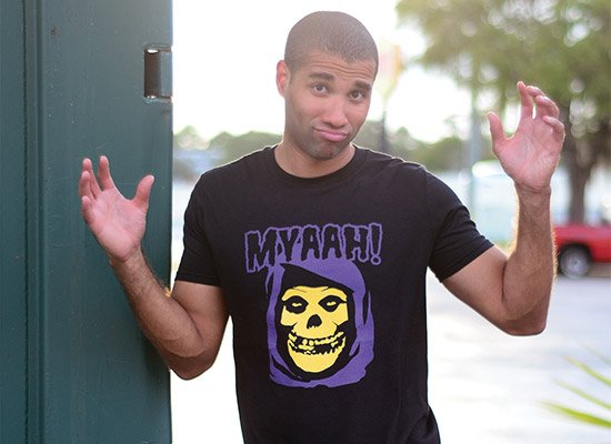 Myaah! on Mens T-Shirt