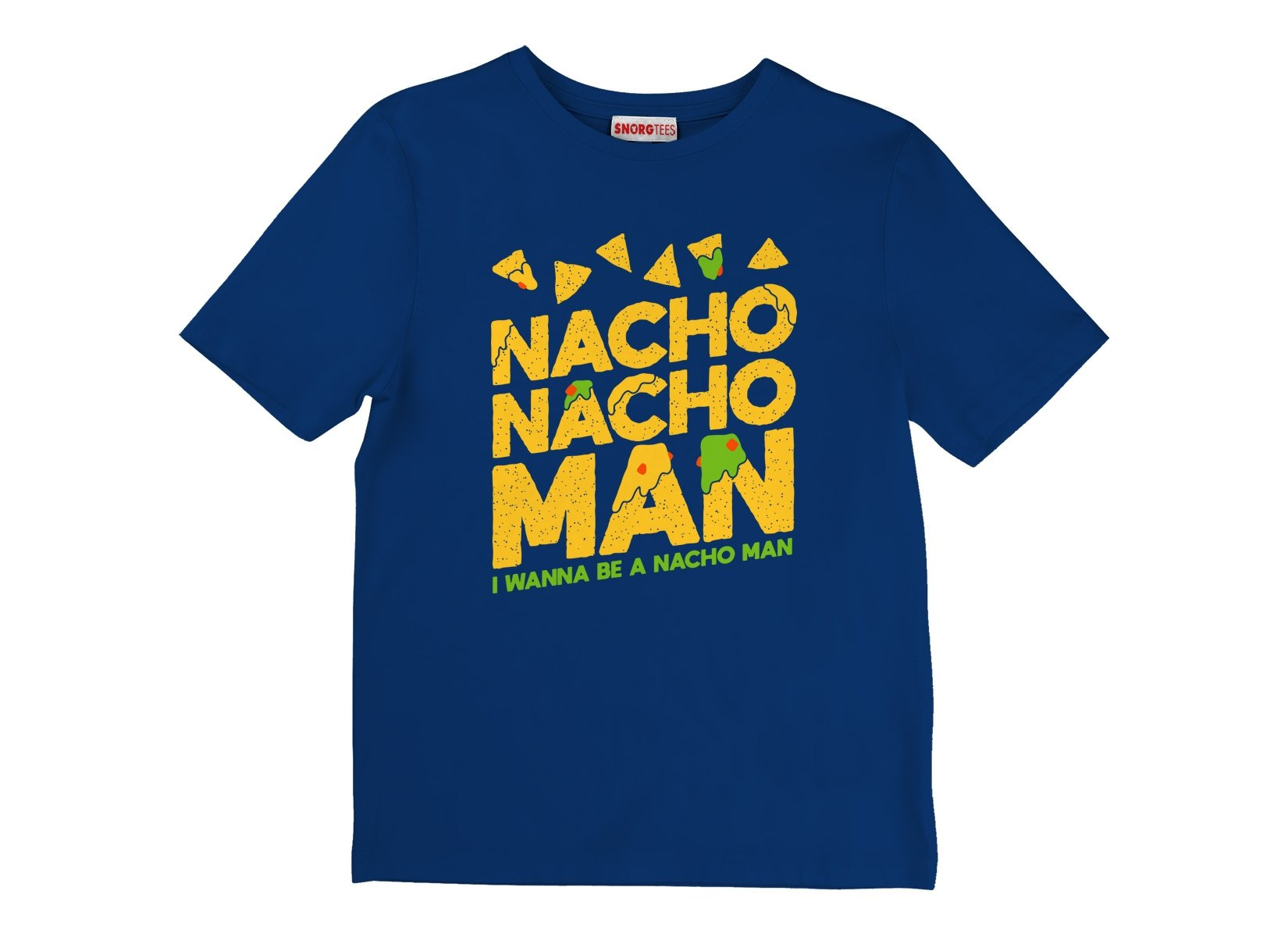 Nacho Nacho Man on Kids T-Shirt