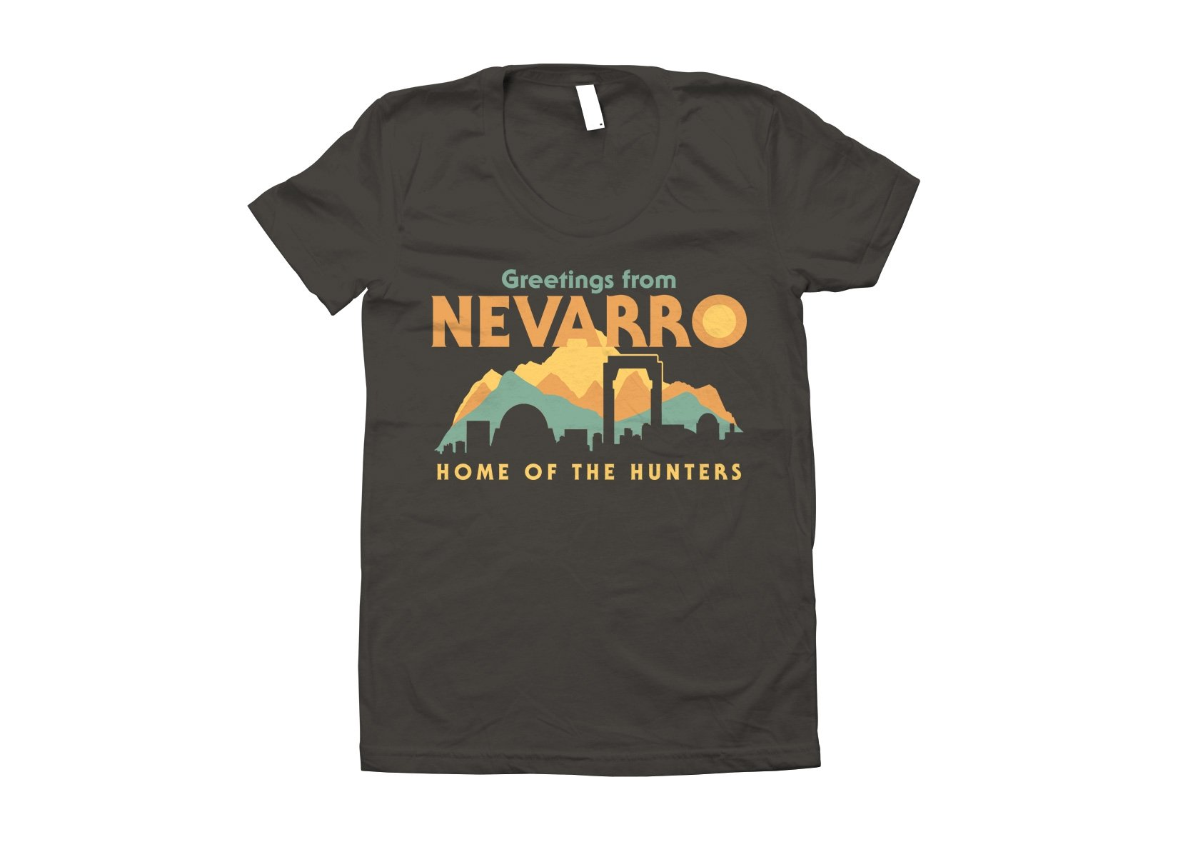 Greetings From Nevarro on Juniors T-Shirt