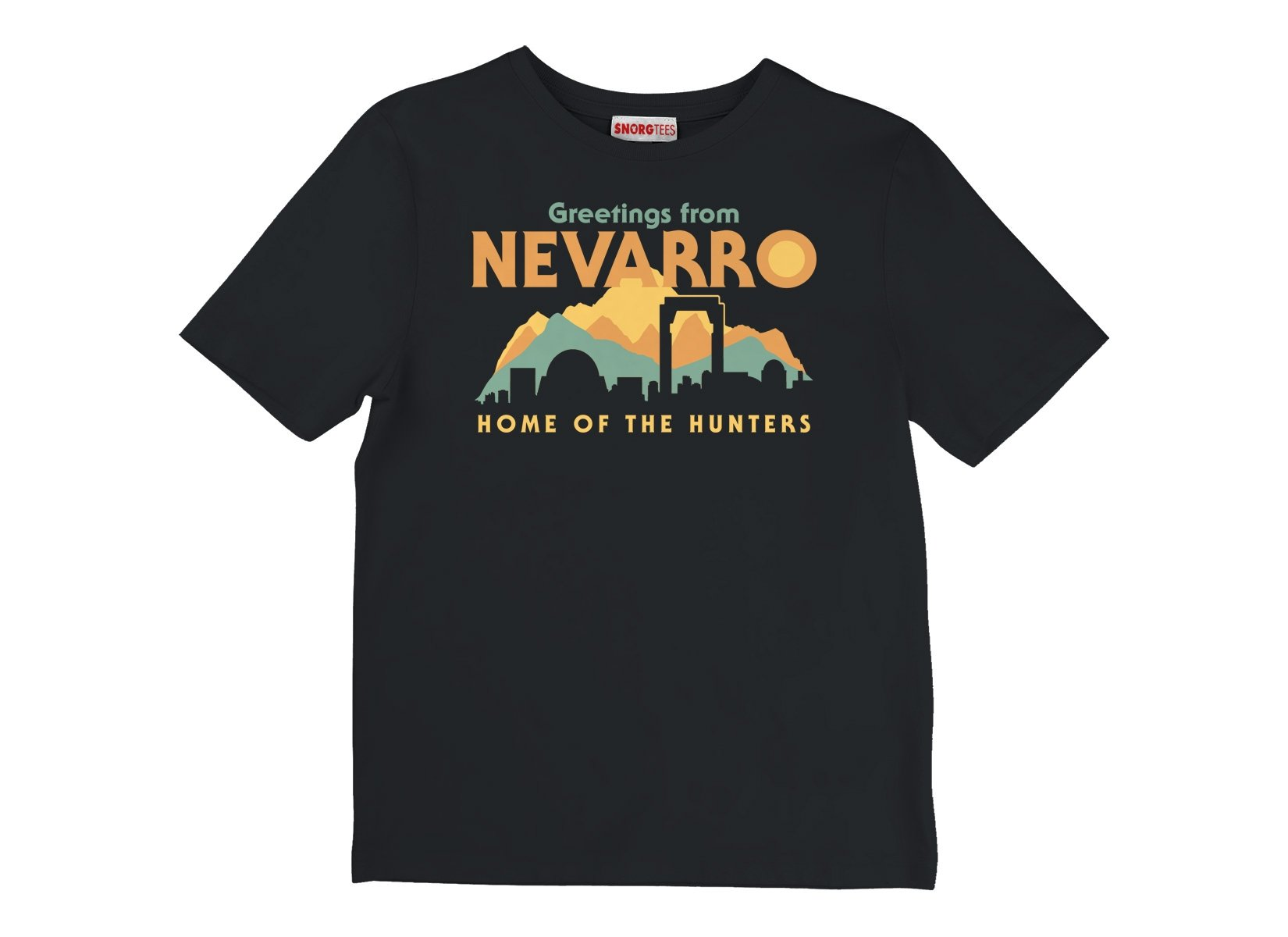 Greetings From Nevarro on Kids T-Shirt