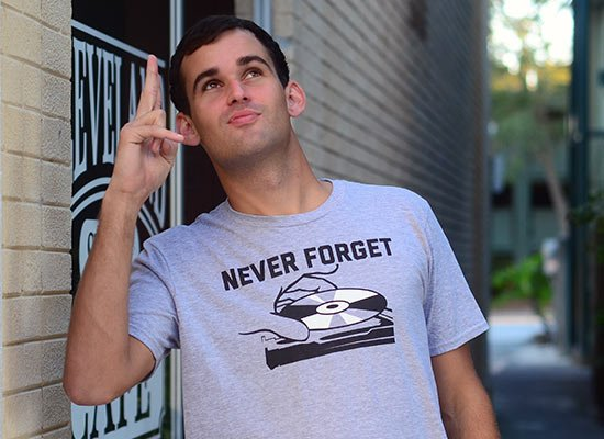 Never Forget on Mens T-Shirt