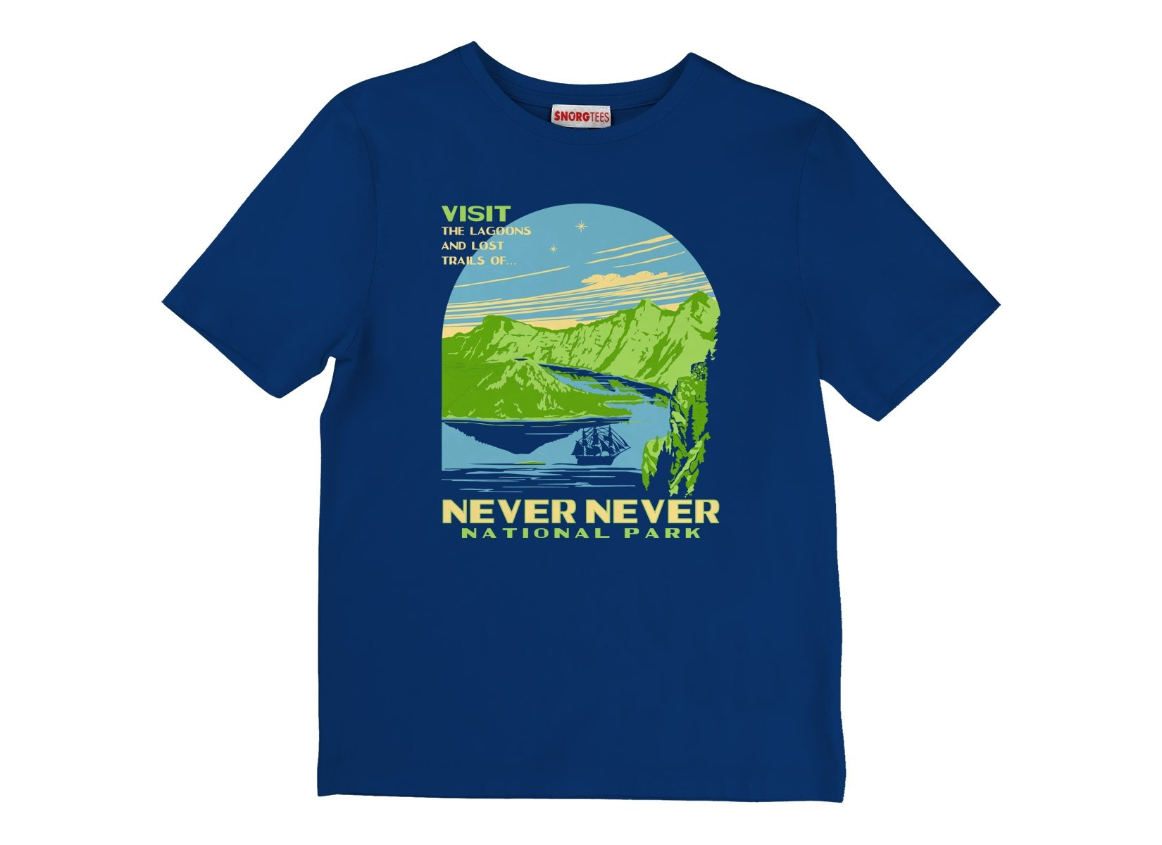Never Never National Park on Kids T-Shirt