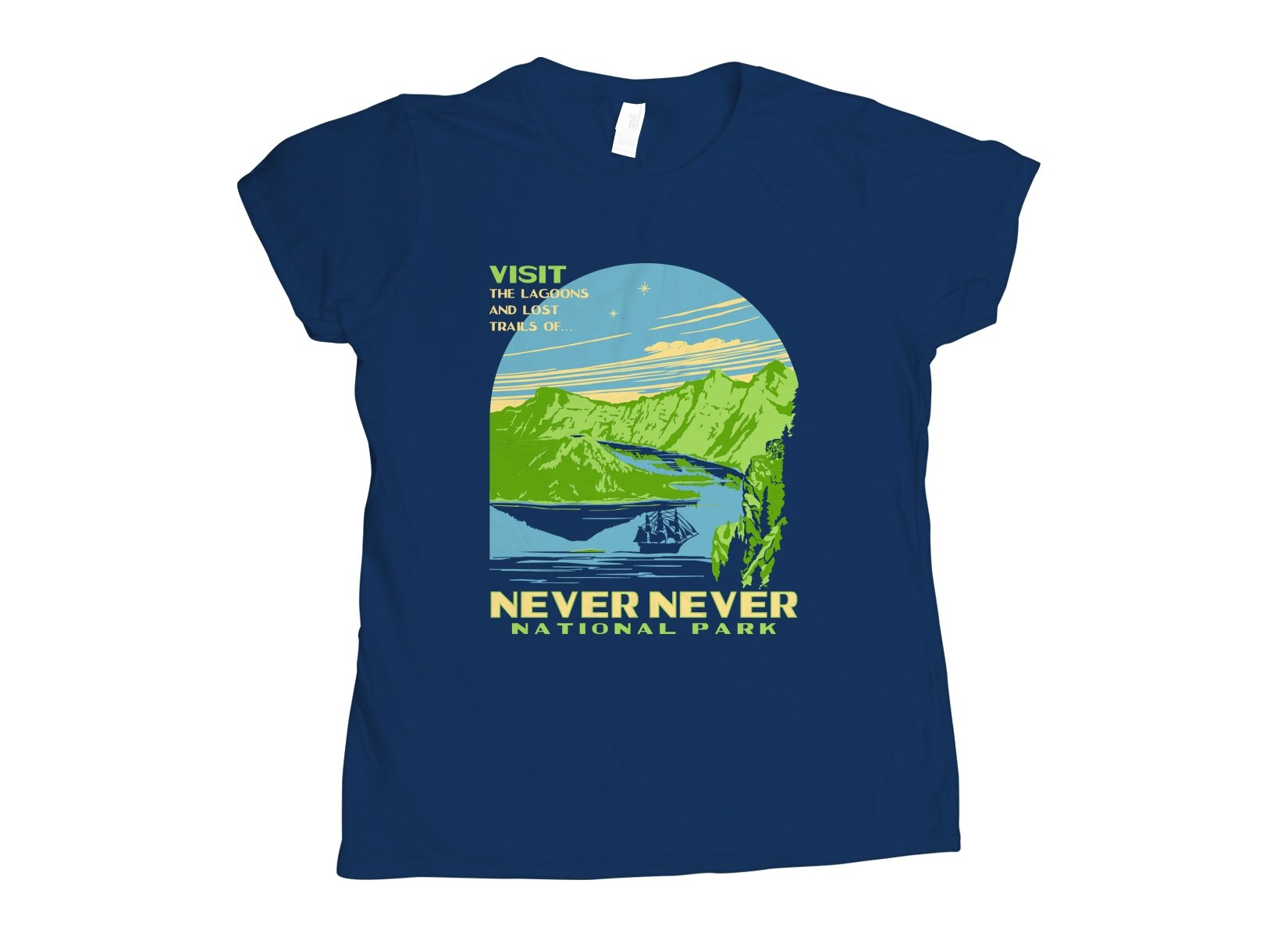 Never Never National Park on Womens T-Shirt