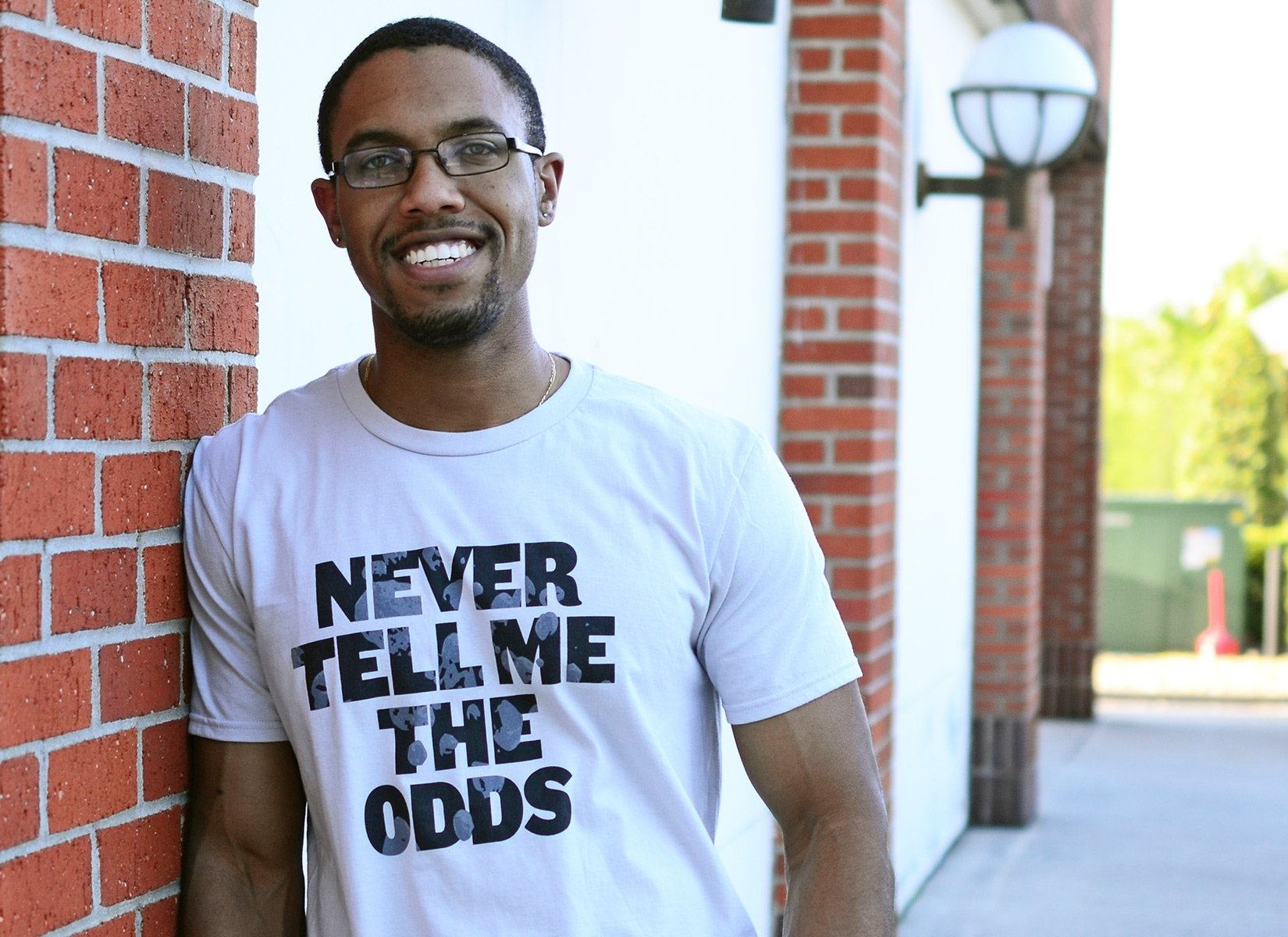 Never Tell Me The Odds on Mens T-Shirt