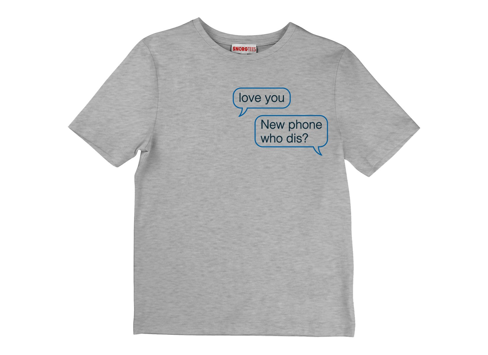 New Phone Who Dis? on Kids T-Shirt